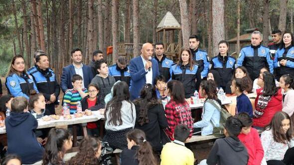 Emniyet, çocuklarla piknikte buluştu