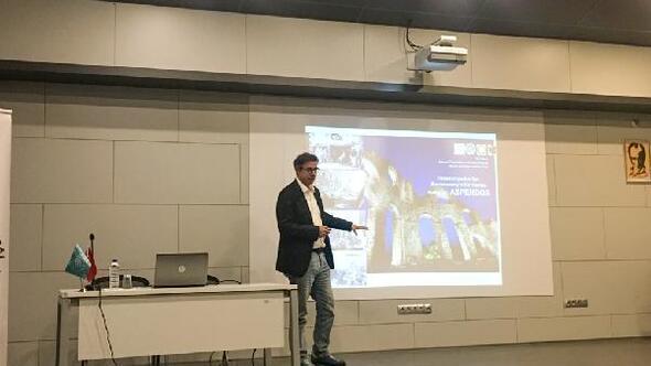 Prof. Köse, Aspendos'daki kazı çalışmalarını anlattı