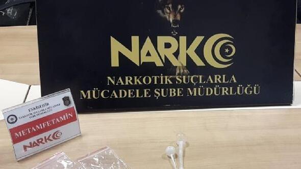 Eskişehir'de uyuşturucu operasyonu: 2 gözaltı
