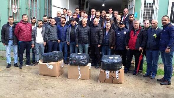 Kırklareli'nde 26 spor kulübüne malzeme yardımı yapıldı