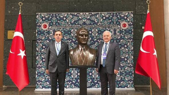 YTSO Başkanı Becan, Berlin'de temaslarda bulundu