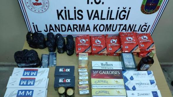 Kilis'te kaçakçılık operasyonu