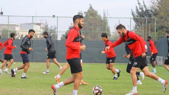 Hatayspor'da Boluspor maçı hazırlıkları başladı