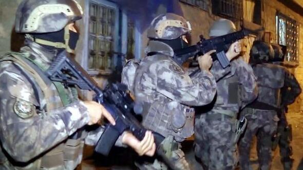Gaziantepte 915 polisle uyuşturucu operasyonu: 25 gözaltı