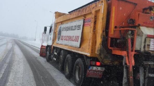 Büyükşehir, 269 kişilik karla mücadele ekibi oluşturdu