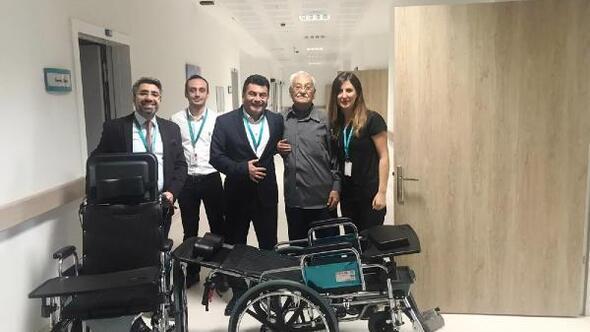 Burhaniye Devlet Hastanesine hayırsever işadamından anlamlı bağış