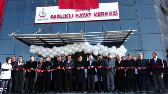 Ercişte Sağlıklı Hayat Merkezi açıldı