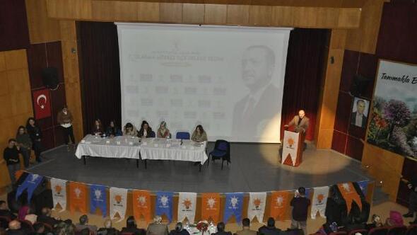 Tuncelide AK Parti delegele seçimi