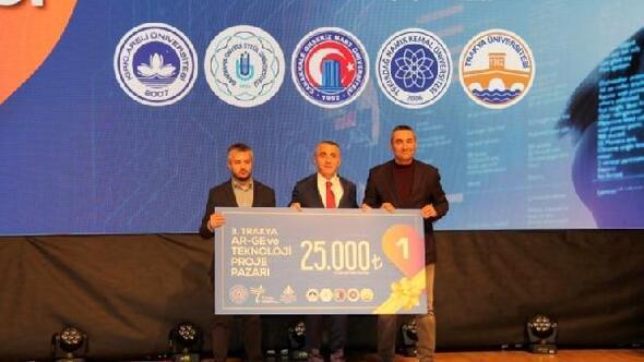 ÇOMÜ, AR-GE ve Teknoloji Projeleri yarışmasında birinci oldu