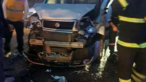Tekirdağda zincirleme kaza: 16 yaralı