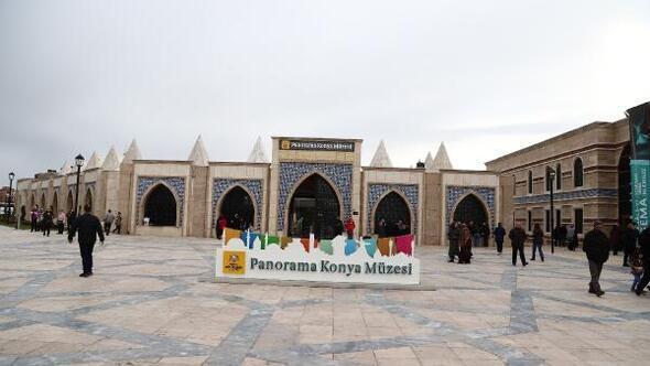 Konya Panorama ve Şehitler Abidesi Mevlana ziyaretçileriyle dolup taşıyor
