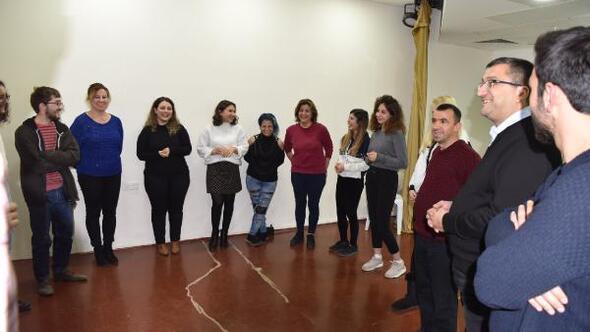 Başkan Öz, Belediye Tiyatro Okulu eğitimine katıldı