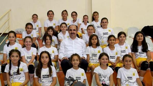 """""""Spor Konya Projesi"""" ile geleceğin sporcuları keşfediliyor"""