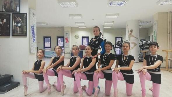Bale atölyesinde geleceğin balet ve balerinleri yetişiyor