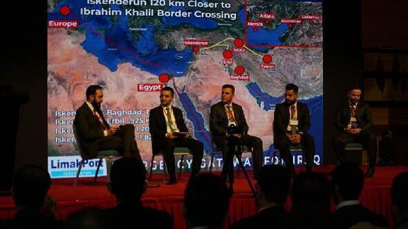 Iraklı iş insanlarına İskenderun Limanının avantajları anlatıldı