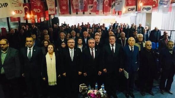 CHP Karacusuda Cengiz Çumralı başkan seçildi