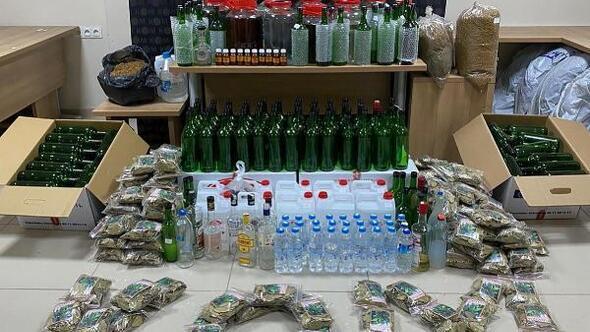 Nevşehirde yılbaşı öncesi kaçak içki denetimi
