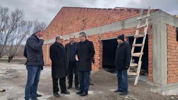 DAP Başkanı Demir, Suşehrinde incelemelerde bulundu