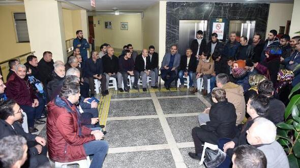 Konya Büyükşehir Belediye Başkanı, yılın ilk gününde vatandaşlarla buluştu