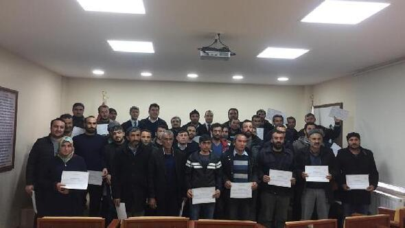 Zilede sürü yönetimi elemanı kursu düzenlendi