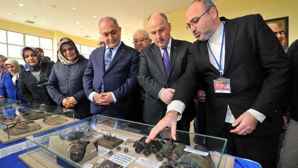 Çanakkale Savaş Malzemeleri Gezici Sergisi açıldı