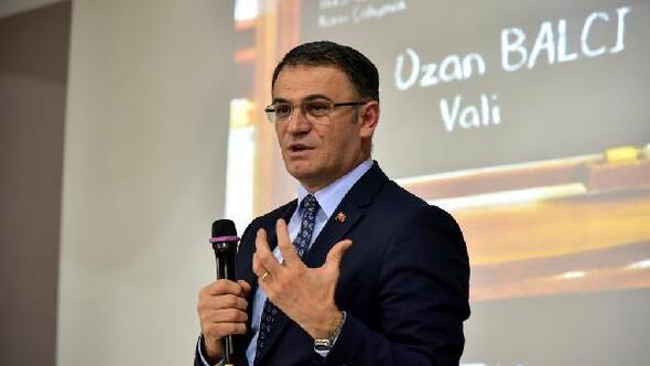 Vali Balcı: Başarılı olmanın sırrı çok çalışmaktır