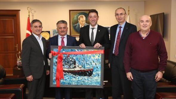 Balıkesir Valisi Yazıcı, Bandırma Belediyesini ziyaret etti
