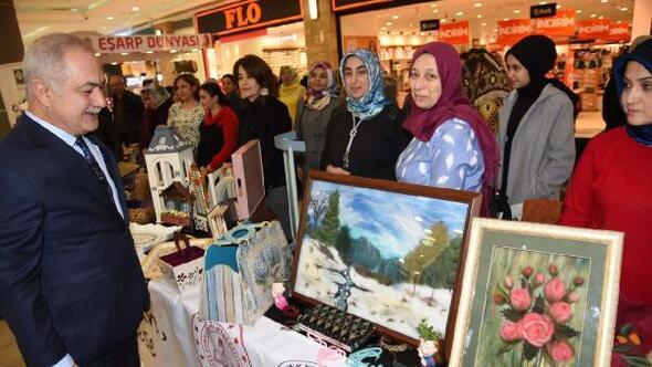 Osmaniyede el ürünleri ve fotoğraf sergisi