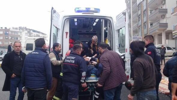 Hatay'da trafik kazası: 1 ağır yaralı