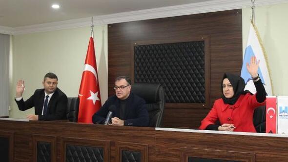 Hacılarda yeni yılın ilk meclis toplantısı yapıldı