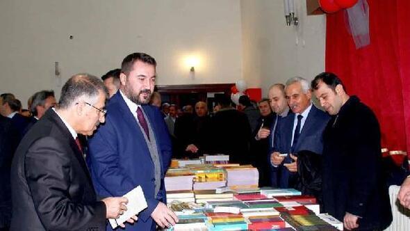 Turhalda kitap fuarını 80 bin kişi ziyaret etti