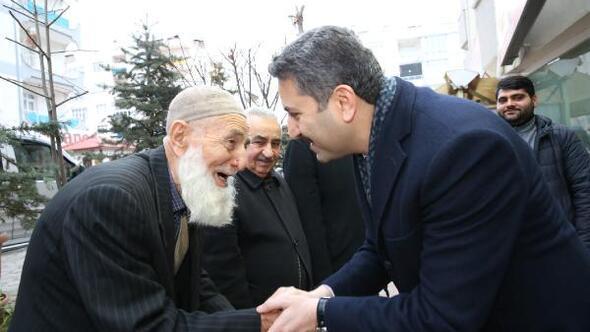 Başkan Eroğlu vatandaşların taleplerini dinledi