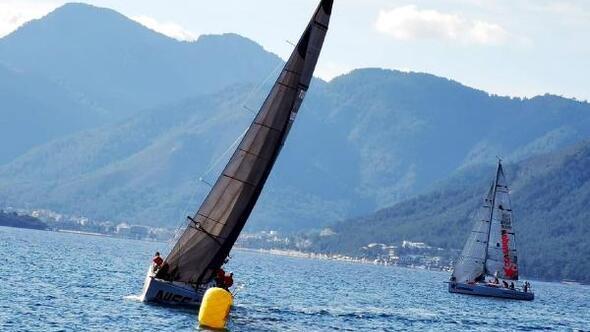 34 yelkenli kış trofesi için yarıştı