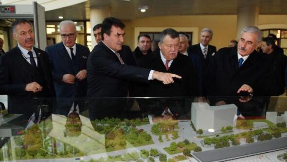 Osmangazi Belediye Başkanı Dündar, Yargıtay Başkanı Ciriti ağırladı