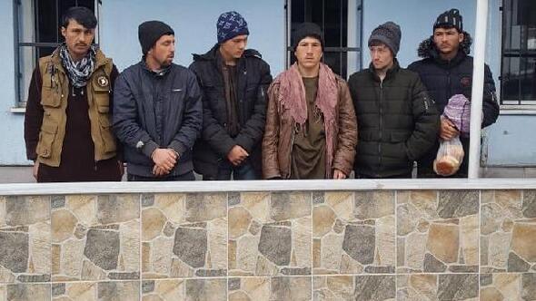Niğdede 6 kaçak göçmen yakalandı