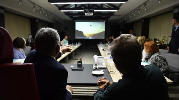 Başkan Büyükkılıç, İstanbul Üniversitesi öğrencilerini kabul etti