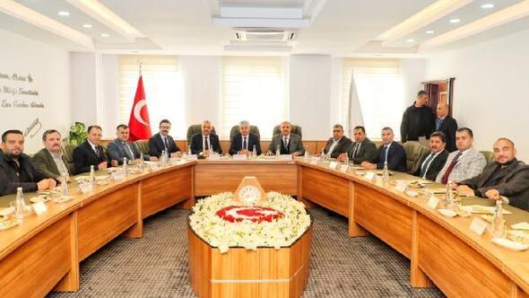 Hatay Valisi Doğan, RTSOnun meclis toplantısına başkanlık yaptı
