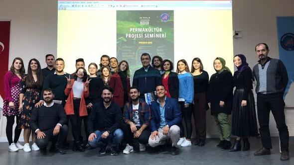 Fakültede Permakültür semineri