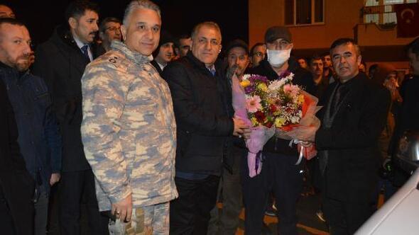 Barış Pınarı Harekâtında yaralanan Yenişehirli uzman çavuş sağlığına kavuştu