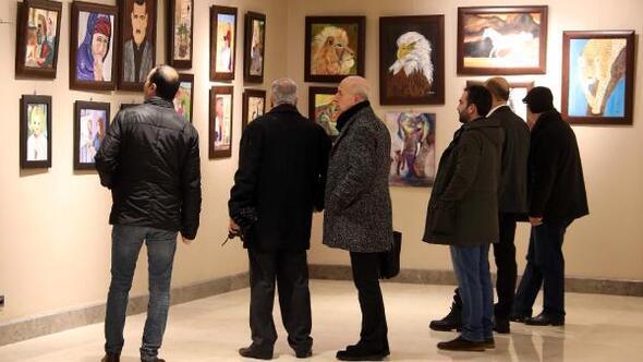 Gaziantepte, resim sergisi açıldı
