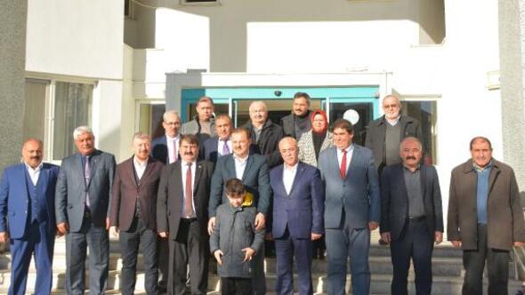 AK Partili Özden Dinara ziyaret