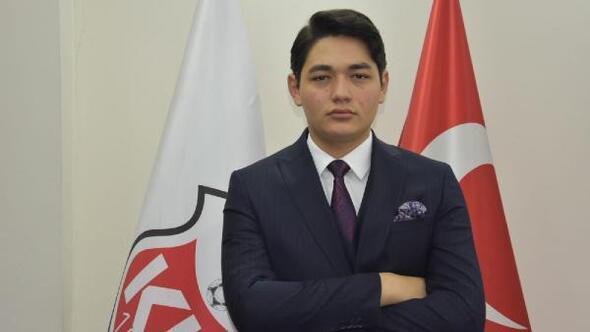 21 yaşındaki başkan Enes Ege Aygün: Hedefim en genç şampiyon başkan olmak
