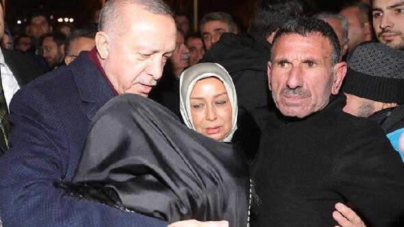 Cumhurbaşkanı Erdoğandan, Doğanyol ilçesinde inceleme