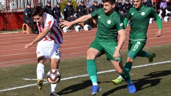 Piserro Kahramanmaraşspor - Sivas Belediye Spor: 2-0