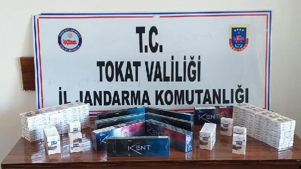 Erbaada 230 paket kaçak sigara ele geçirildi