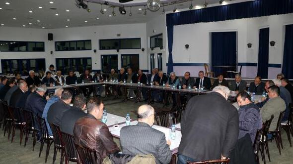 Sandıklıda CHP toplantısı