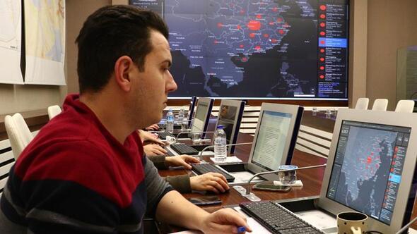 Ankara'da operasyon merkezi oluşturuldu