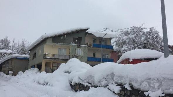 Beytüşşebapta 15 köy yolu kardan kapandı