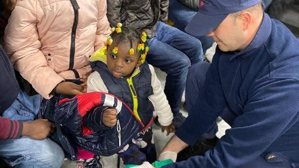 Çanakkalede 78 kaçak göçmen yakalandı