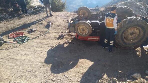 Kullandığıtraktörün altında kalan16 yaşındaki Ahmet öldü